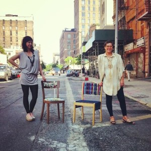 Amy Devers and Tanya Aguiniga