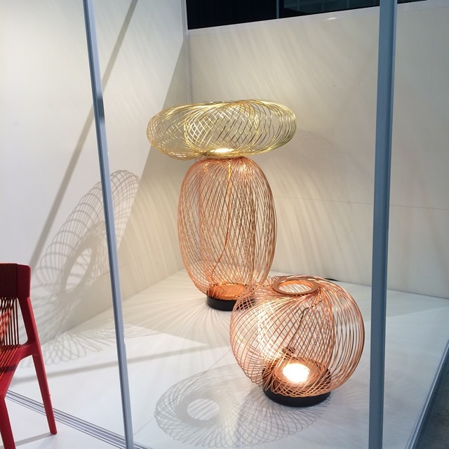 Anwar LED lighting collection by Stephen Burks for Parachilna