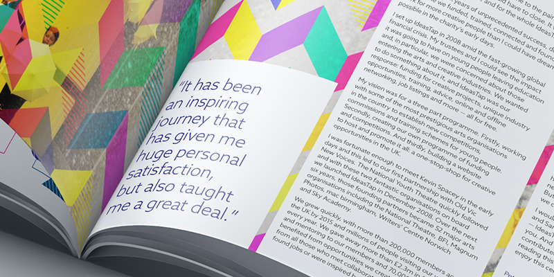 Amy Douthett Communications | IdeasTap | Coffee Table Book