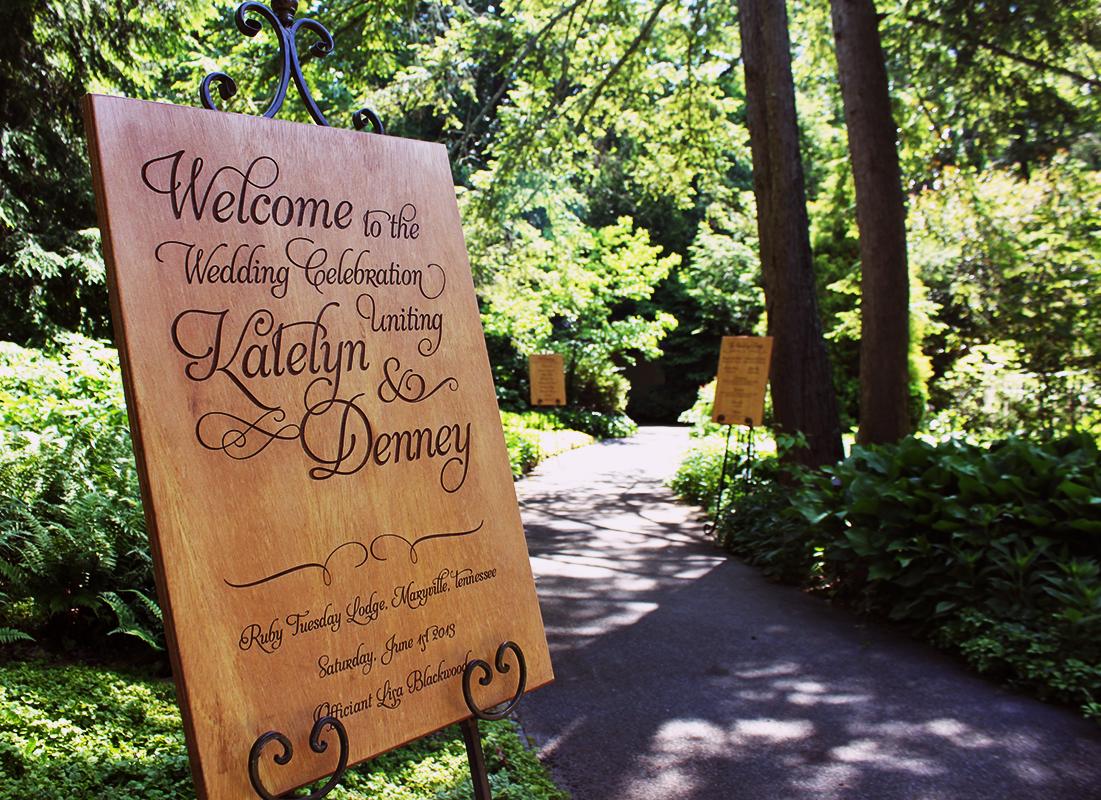 Wedding Signage Design
