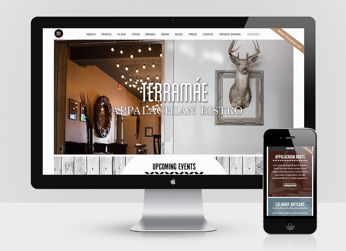 TerraMae Website Design