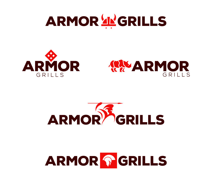 Armor Shields Logo Options