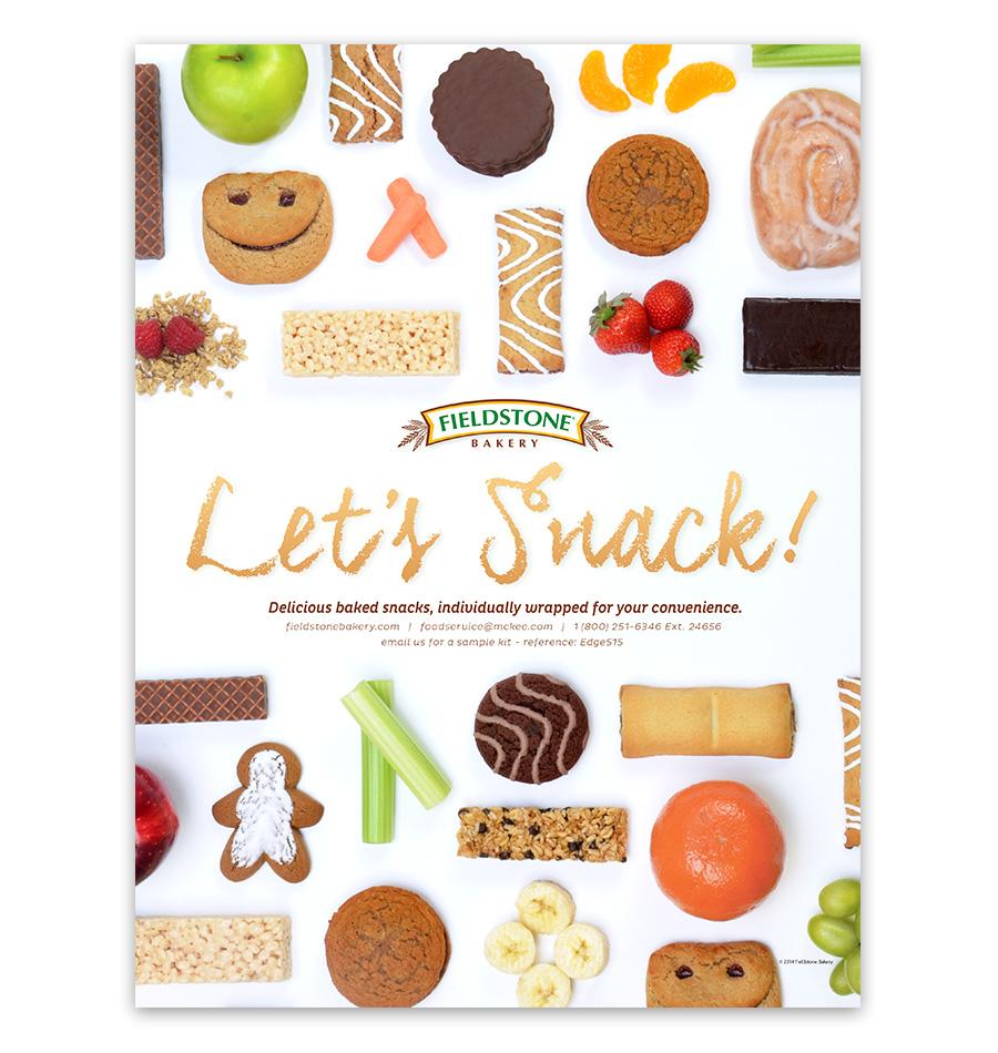 School Nutrition Let's Snack Ad