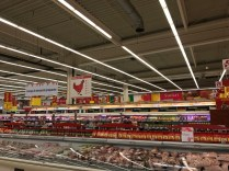The chicken sign is sectioned into parts like our beef signs are here in the US