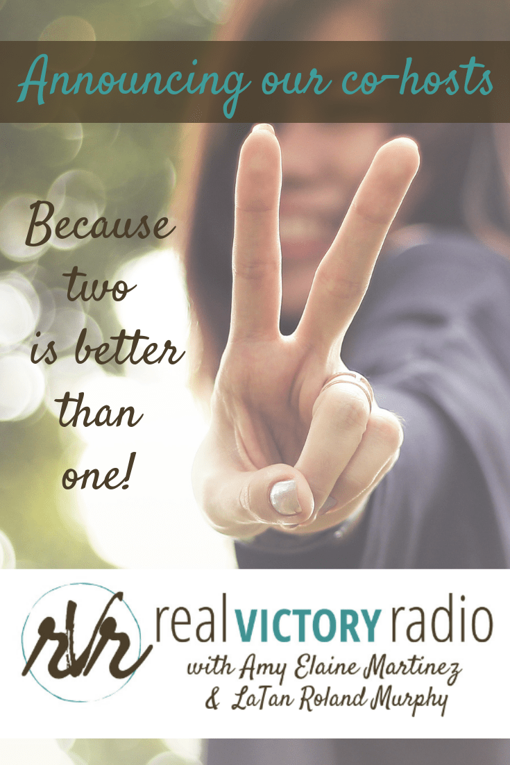 Real Victory Radio cohosts