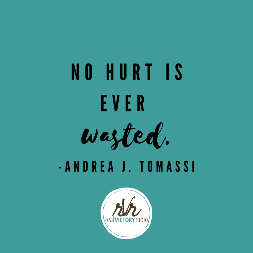 no hurt wasted andrea tomassi