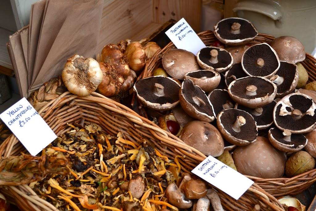 Borough Market mushrooms