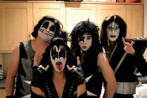 KISS band costume