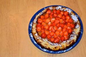 strawberry and caramel cheesecake recipe