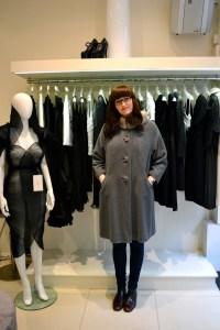vintage coat shopping