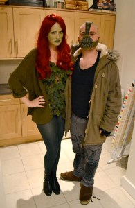 Poison Ivy costume, Bane costume