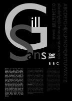 Gill Sans Design 1