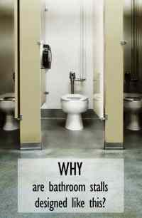 Why Are Bathroom Stalls Designed Like This? | AMY EVER AFTER