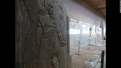 reliefs intact at Nimrud pre-2015