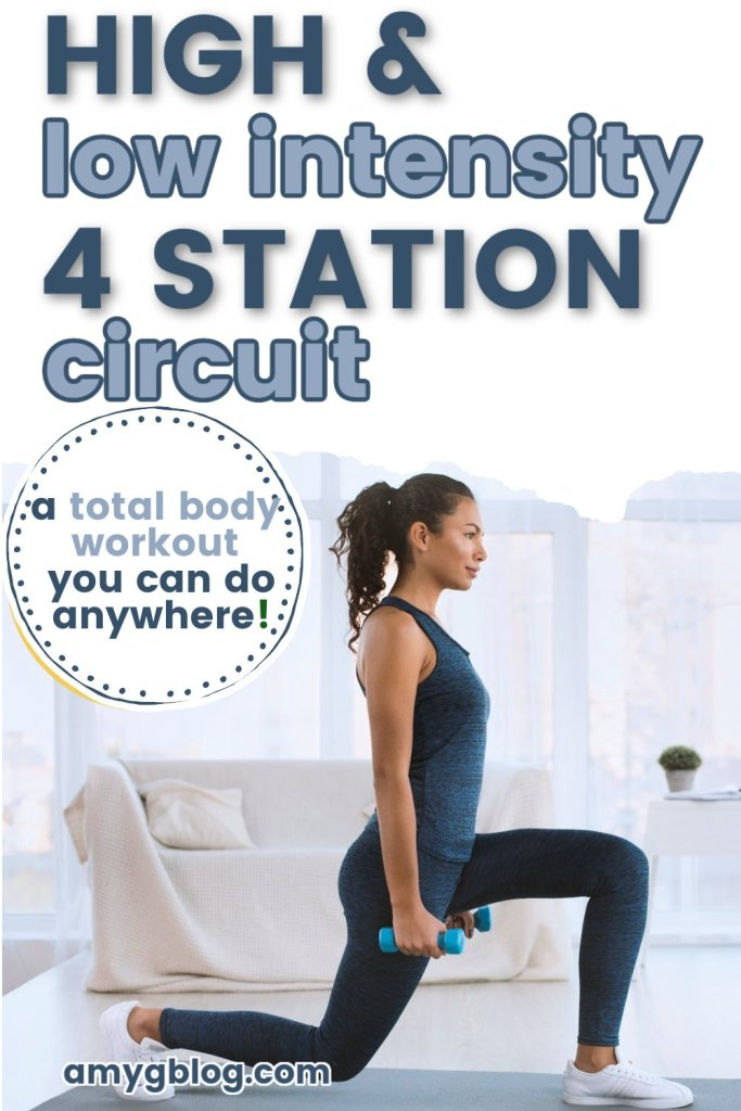 A total body circuit workout that you can do anywhere! #totalbodyfitness #circuitworkout #fitness #athomeworkout #garageworkout