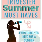 Going into your third trimester and giving birth in the hot summer months? I'm a mom of TWO summer babies and went through pregnancy in the heat of Southeast Texas. Checkout my favorite third trimester pregnancy must haves to help get you through the end of your pregnancy! #3rdtrimesteressentials #3rdtrimestermusthaves #summerthirdtrimester #3rdtrimesternecessities