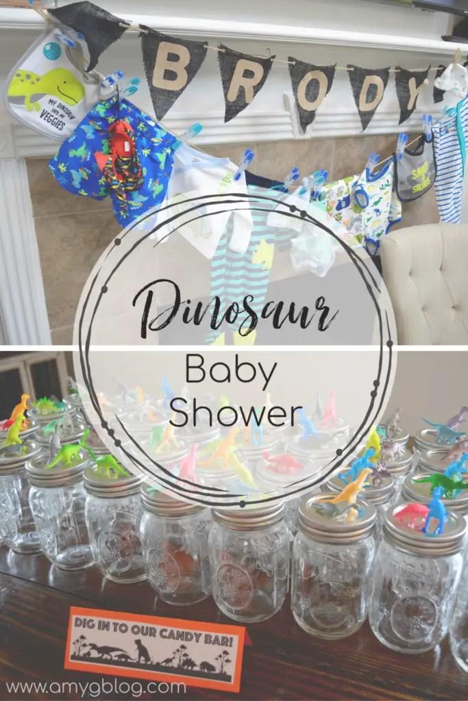 Baby Shower Dinosaur Theme : shower, dinosaur, theme, Dinosaur, Themed, Shower, Amy's, Balancing
