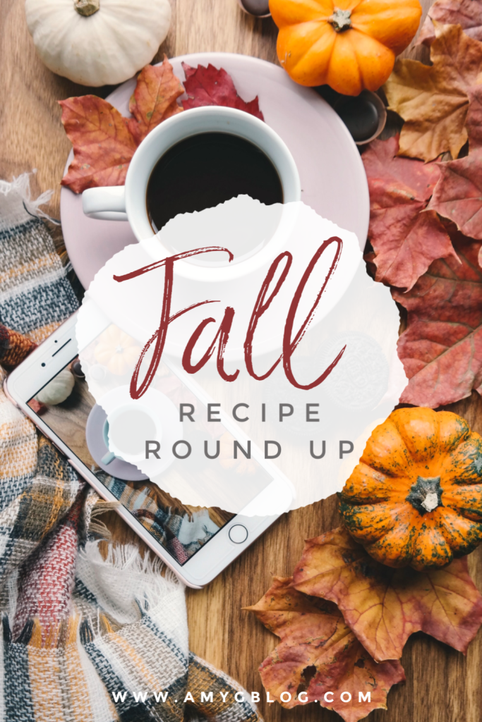 Fall recipe round up from sweet treats to savory dinners. You know you want to satisfy those fall flavor cravings!