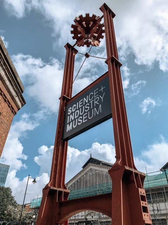 Manchester's Science and Industry Museum. An excellent, free stop when travelling with kids! There is so much to do for kids including shows, exhibits and a play area!