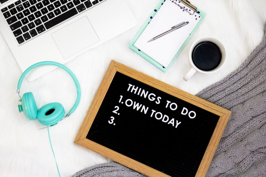 Lately I've been thinking about all the things on my ever growing to do list!