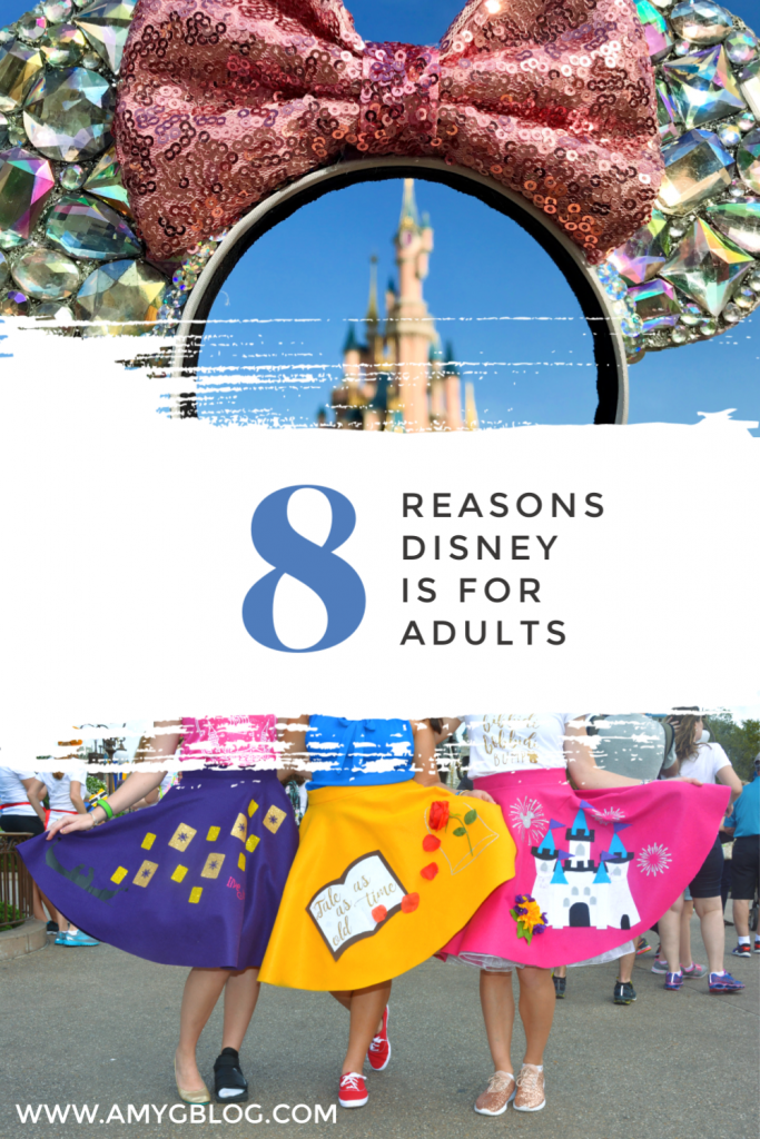 Whoever decided that Disney is just for kids didn't know what they were talking about. Disney is just as much for adults as it is for little ones. Here are 8 reasons why Disney is also for adults. Now get ready to plan your next grown up getaway to Disney World or Disneyland!