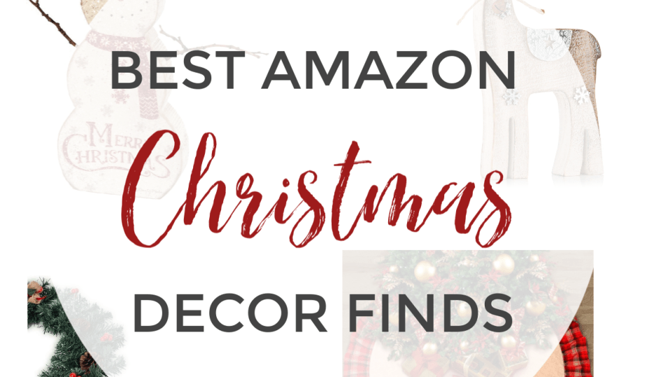 It's that time of year! Time to start thinking about what your winter wonderland will look like. Here are my top Amazon Christmas decor picks all at reasonable prices!