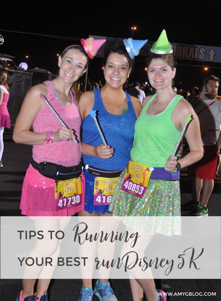 9 tips to running your BEST runDisney 5K. From choosing the costumes to taking pictures and crossing the finish line, find out what you can do to have the most FUN! #runDisney #running #5k