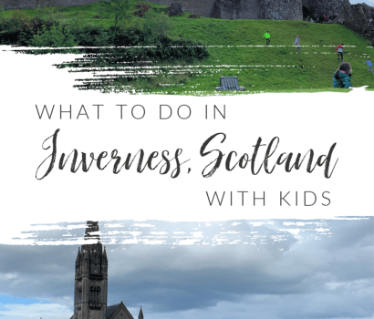 Check out these top things to do in Inverness, Scotland with kids! From Loch Ness to Culloden Battlefield and the beautiful parks around the city, there is so much to do with your kids in tow when visiting this city!