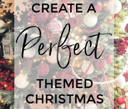 Take a look at how to put together the perfect themed Christmas tree!