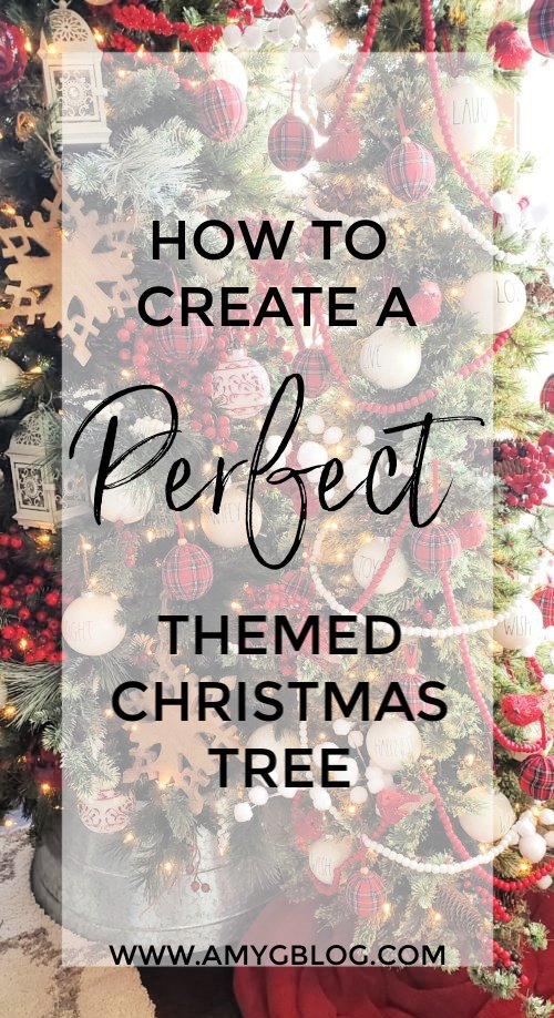As you start thinking about decorating for Christmas this year, don't forget about all the details on your tree! Take a look at how you can put together the perfect themed Christmas tree in your home!