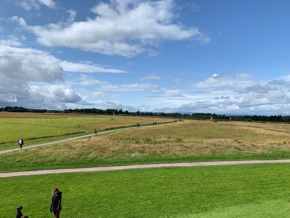 Culloden Battlefield where the final battle of the Jacobite Rebellion was fought on Culloden Moor near Inverness, Scotland.