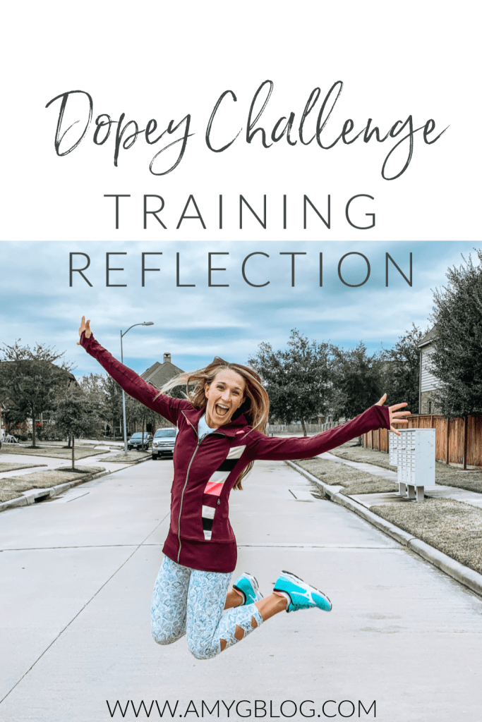 Training for the runDisney Dopey Challenge has been unlike anything I've done before. This is a Dopey training reflection of how far I've come mentally and physically as a runner along the way!
