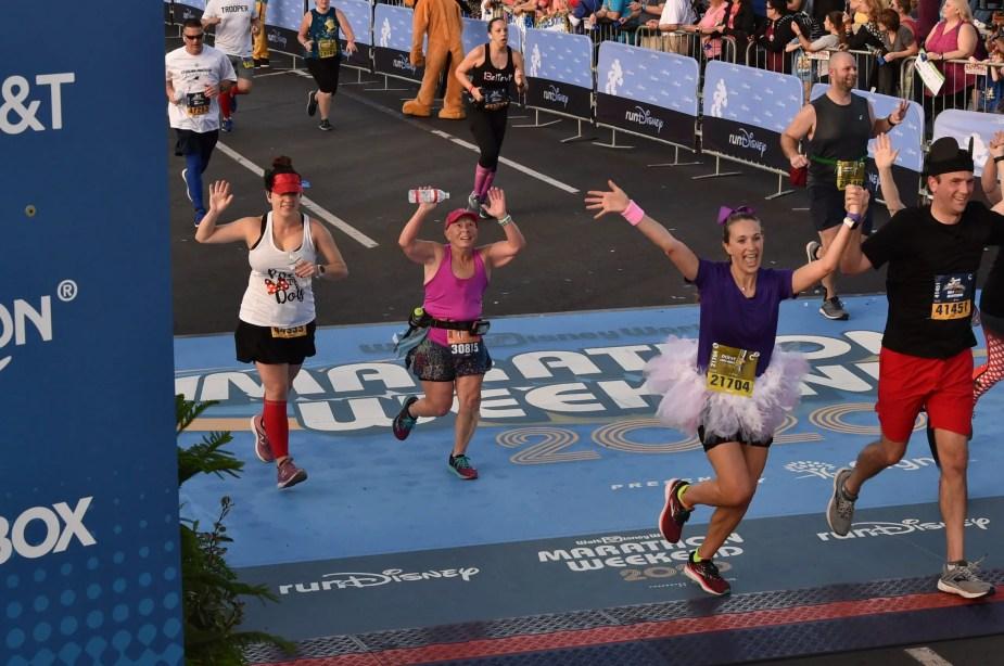 2020 runDisney Dopey Challenge Half Marathon. Race 3 of 4 done! One more race to complete the challenge.