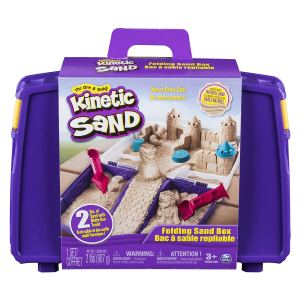 Screen free activity: Kinetic Sand