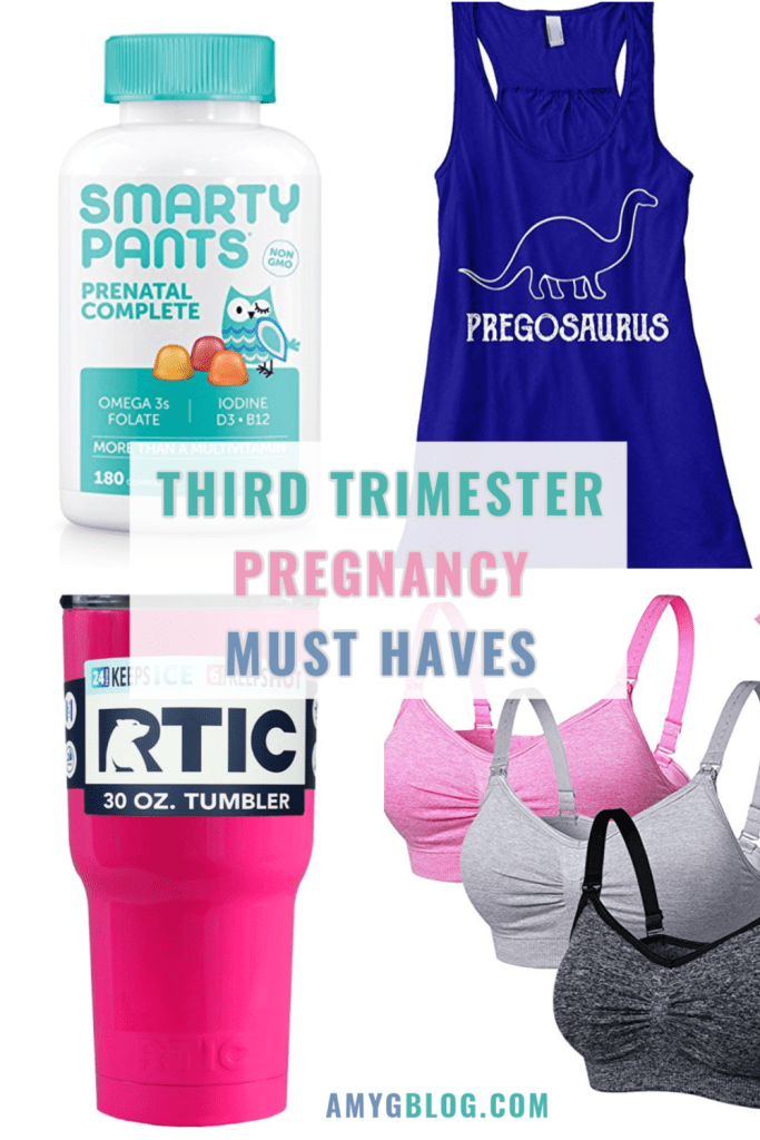 These are my third trimester pregnancy must haves especially for a summer baby! After having two babies in hot summer months, these are the items that I found to be the most useful!