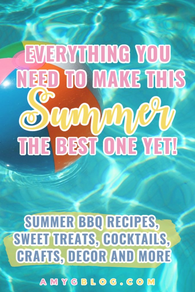 Ready for a summer full of fun? This ultimate summer roundup is full of summer recipe ideas, kids summer crafts and everything you need to set up the perfect summer BBQ! #summerideas #summercraftsforkids #summercraftideas #summerbbqrecipes #bbqrecipes #summercocktails #nonalcoholicsummerdrinks