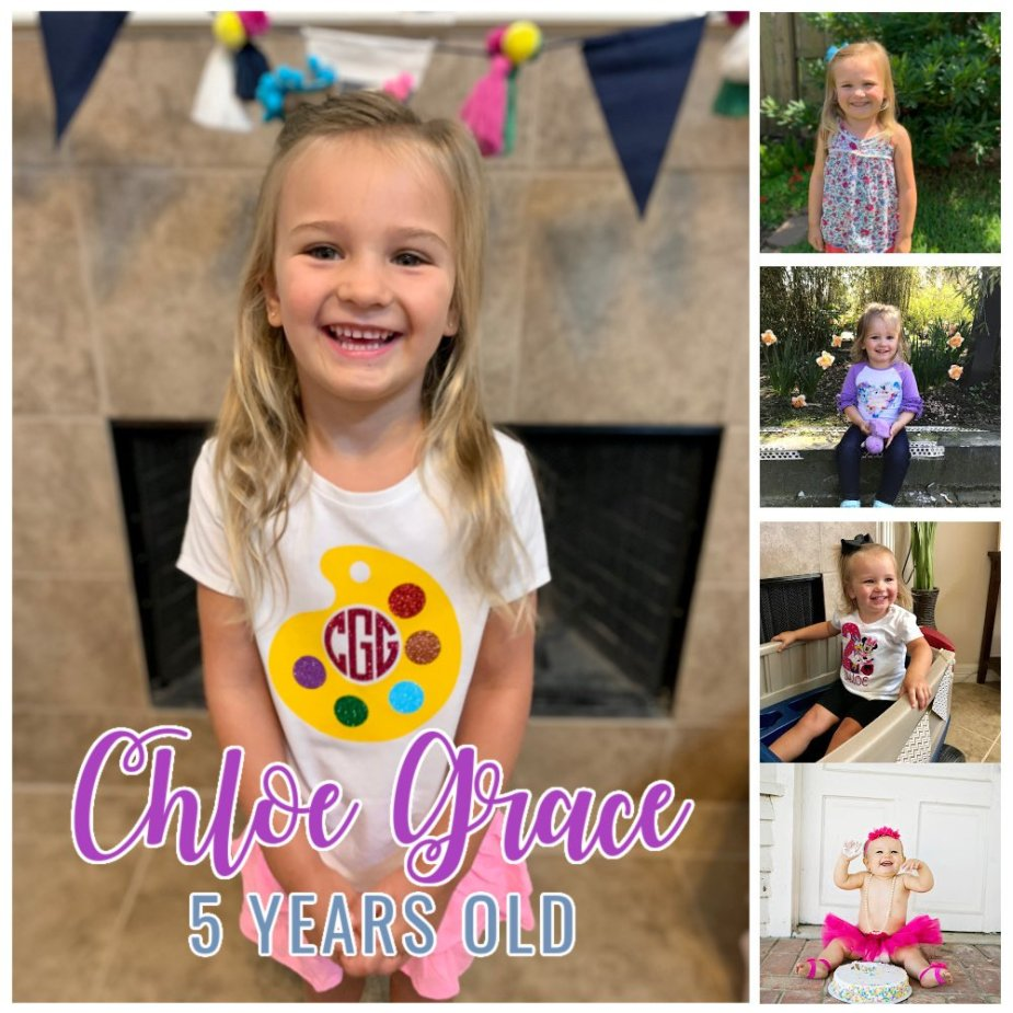 Chloe Grace 5 Years Old