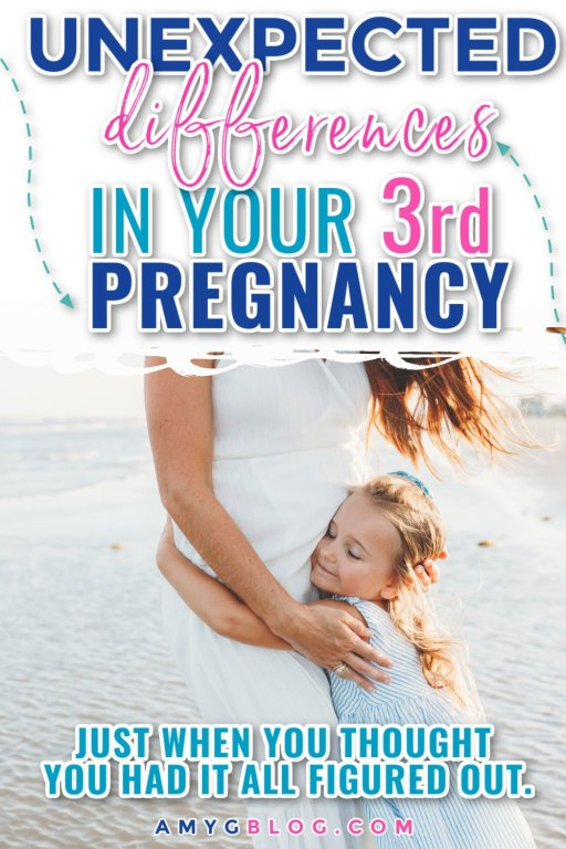 Just when you think you've got this pregnancy thing figured out, you realize that the 3rd time around is quite different. Check out these unexpected ways your 3rd pregnancy will differ! #pregnancy #3rdpregnancy #babynumber3 #expectingmom #pregnancytips