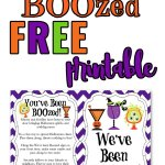 Get ready to BOOze your neighbor this year because Halloween isn't just for the kids! Grab your FREE We've Been BOOzed printable and send something you know they'll love! #booyourneighbor #halloween2020 #halloweenfun #halloweenideas