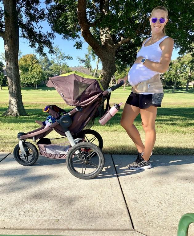 35 week bumpdate - Fitness