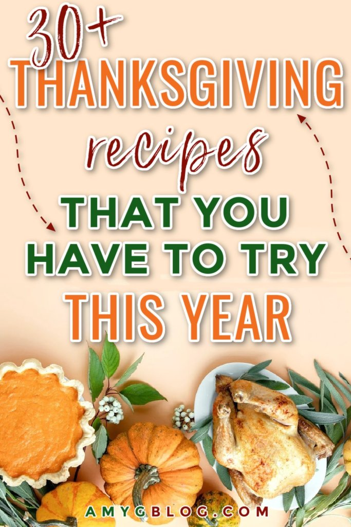 Ready to spice things up in the kitchen for Thanksgiving this year? Try one of these new recipes that are staples in others' homes. Thanksgiving sides, desserts, drinks and even Thanksgiving leftover recipes for you to try! #thanksgivingrecieps #reciperoundup #holidayrecipe #thanksgivingleftovers