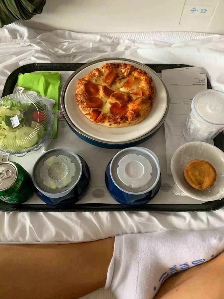 Postpartum meal