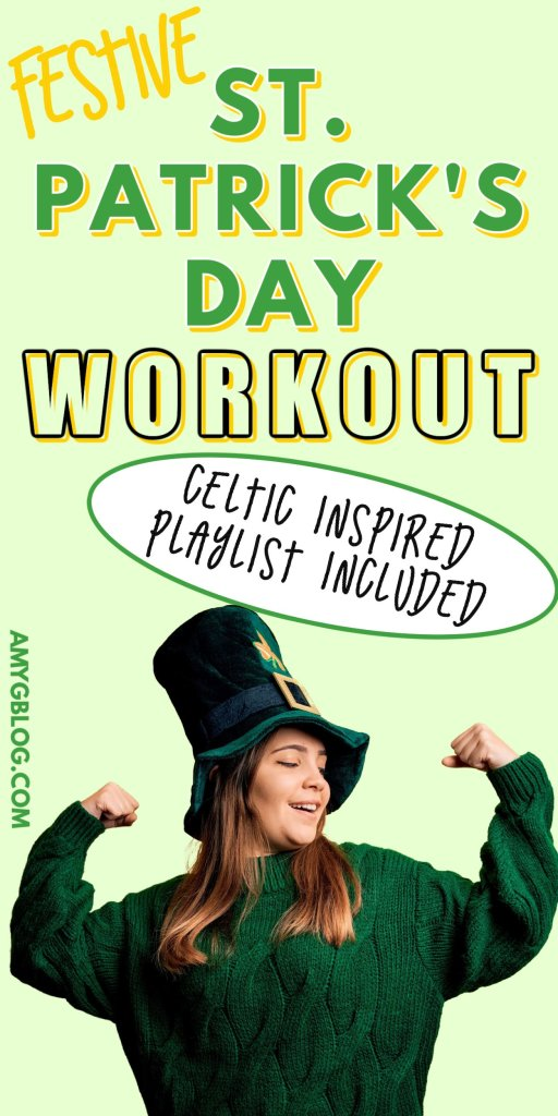 Try these two St. Patrick's Day workouts that you can do alone, with friends or even with your kids. I've even included a Celtic inspired playlist to get you in the right headspace to celebrate the Irish! #stpatricksdayworkout #homeworkout #workoutwithkids #kidworkout #youthfitness