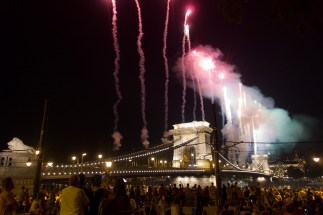 Fireworks for St. Stephen's Day.2