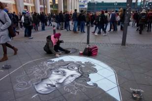 Street art at Alexanderplatz