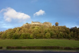Stirling Castle to round out the Scottish Highlands tour