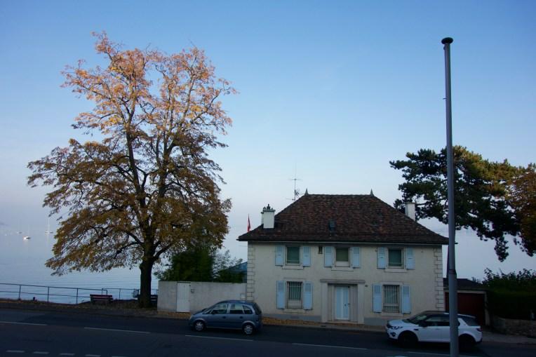 Janine's adorably quaint homestay town of Nyon, Switzerland