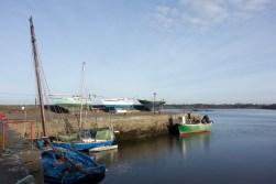 The fishing town of Kinvara on Ireland's west coast