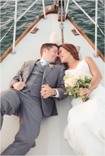 Ryan Pam Coronado Sailing Wedding