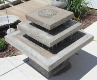 New Original Concrete Water Fountains | Amy J. Greving ...